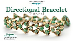 How to Bead / Videos Sorted by Beads / RounDuo® & RounDuo® Mini Bead Videos / Directional Bracelet Tutorial