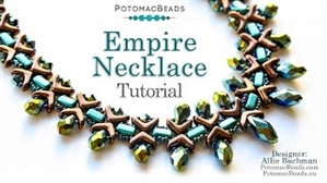 How to Bead Jewelry / Videos Sorted by Beads / CzechMates Bead Videos / Empire Necklace Tutorial