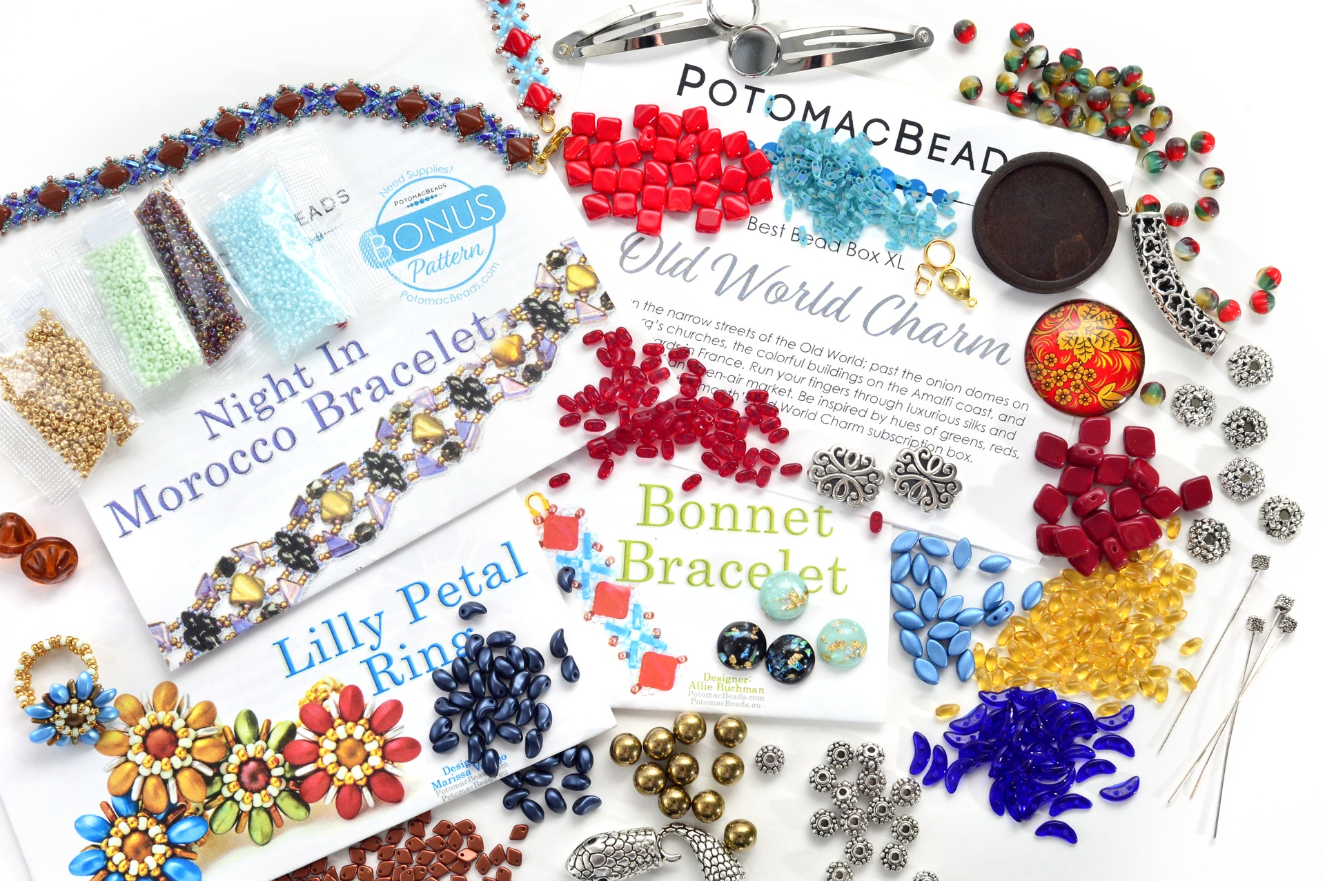 Subscription Inspiration / Best Bead Box XL July 2020