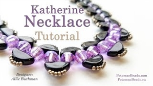 How to Bead Jewelry / Videos Sorted by Beads / Potomac Crystal Videos / Katherine Necklace Tutorial
