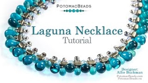 How to Bead Jewelry / Videos Sorted by Beads / Par Puca® Bead Videos / Laguna Necklace Tutorial