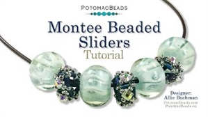How to Bead / Videos Sorted by Beads / All Other Bead Videos / Montee Beaded Sliders Tutorial
