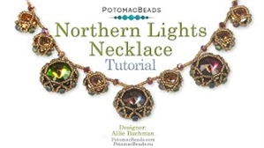 How to Bead Jewelry / Videos Sorted by Beads / Potomac Crystal Videos / Northern Lights Necklace Tutorial