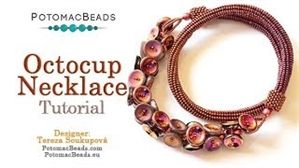How to Bead / Videos Sorted by Beads / All Other Bead Videos / Octocup Necklace Tutorial