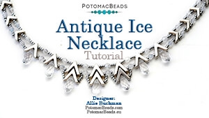 How to Bead / Free Video Tutorials / Necklace Projects / Antique Ice Necklace Tutorial