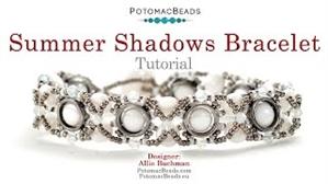 How to Bead / Free Video Tutorials / Bracelet Projects / Summer Shadows Bracelet Tutorial