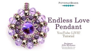 How to Bead Jewelry / Videos Sorted by Beads / Potomac Crystal Videos / Endless Love Pendant