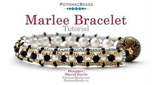 How to Bead / Videos Sorted by Beads / Potomac Crystal Videos / Marlee Bracelet Tutorial