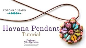 How to Bead / Videos Sorted by Beads / All Other Bead Videos / Havana Pendant Tutorial