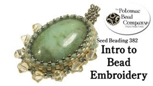 How to Bead / Videos Sorted by Beads / Gemstone Videos / Intro to Bead Embroidery Tutorial