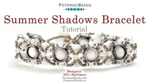 How to Bead Jewelry / Videos Sorted by Beads / Potomax Metal Bead Videos / Summer Shadows Bracelet Tutorial
