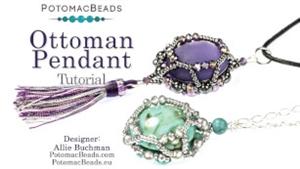 How to Bead / Videos Sorted by Beads / RounDuo® & RounDuo® Mini Bead Videos / Ottoman Pendant Tutorial