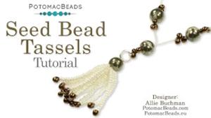 How to Bead Jewelry / Videos Sorted by Beads / Gemstone Videos / Seed Bead Tassels Tutorial
