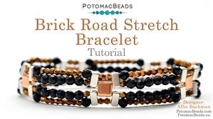 How to Bead / Free Video Tutorials / Bracelet Projects / Brick Road Stretch Bracelet Tutorial