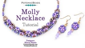 How to Bead Jewelry / Beading Tutorials & Jewel Making Videos / Bead Weaving Tutorials & Necklace Tutorial / Molly Necklace Tutorial