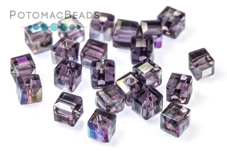 Other Beads & Supplies / Crystals / Potomac Crystal Cube Beads / Potomac Crystal Cube Beads 3mm