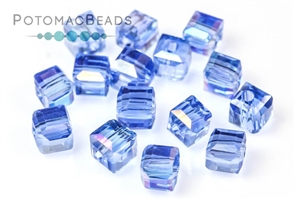 Potomac Exclusives / Potomac Crystals (All) / Potomac Crystal Cube Beads / Potomac Crystal Cube Beads 4mm