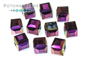 Potomac Exclusives / Potomac Crystals (All) / Potomac Crystal Cube Beads / Potomac Crystal Cube Beads 6mm