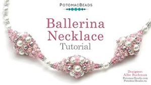 How to Bead / Free Video Tutorials / Necklace Projects / Ballerina Necklace Tutorial