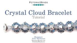 How to Bead Jewelry / Beading Tutorials & Jewel Making Videos / Bracelet Projects / Crystal Cloud Bracelet Tutorial