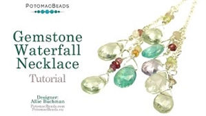 How to Bead / Videos Sorted by Beads / Gemstone Videos / Gemstone Waterfall Necklace