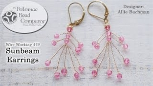 How to Bead Jewelry / Videos Sorted by Beads / All Other Bead Videos / Sunbeam Earring Tutorial