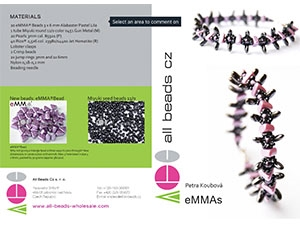How to Bead Jewelry / eMMAs Bracelet Pattern by Petra Koubova