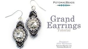 How to Bead / Videos Sorted by Beads / EVA® Bead Videos / Grand Earrings Tutorial