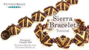 How to Bead Jewelry / Videos Sorted by Beads / Potomac Crystal Videos / Sierra Bracelet Tutorial