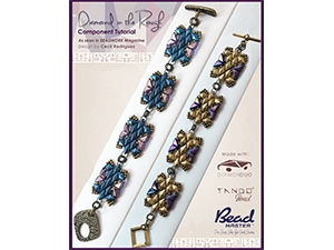 How to Bead / Free Patterns / Diamond in the Rough Pattern by Cecil Rodriguez