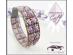 How to Bead / DiamonDuet Cuff Pattern