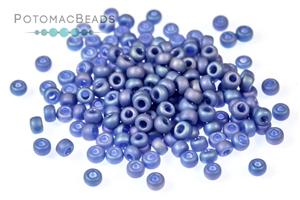 Seed Beads / Miyuki Seed Beads (11/0) / 11/0 Frosted Opaque Glaze Rainbow