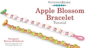 How to Bead / Free Video Tutorials / Bracelet Projects / Apple Blossom Bracelet Tutorial