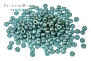 Seed Beads / Miyuki Seed Beads (8/0) / Miyuki 8/0 Seed Beads: Frosted Opaque Glaze Rainbow