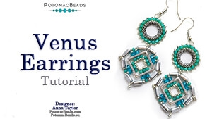 How to Bead / Free Video Tutorials / Earring Projects / Venus Earrings Tutorial