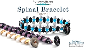 How to Bead Jewelry / Videos Sorted by Beads / Par Puca® Bead Videos / Spinal Bracelet Tutorial