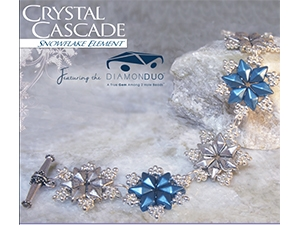 How to Bead / Free Patterns / Crystal Cascade Bracelet Pattern