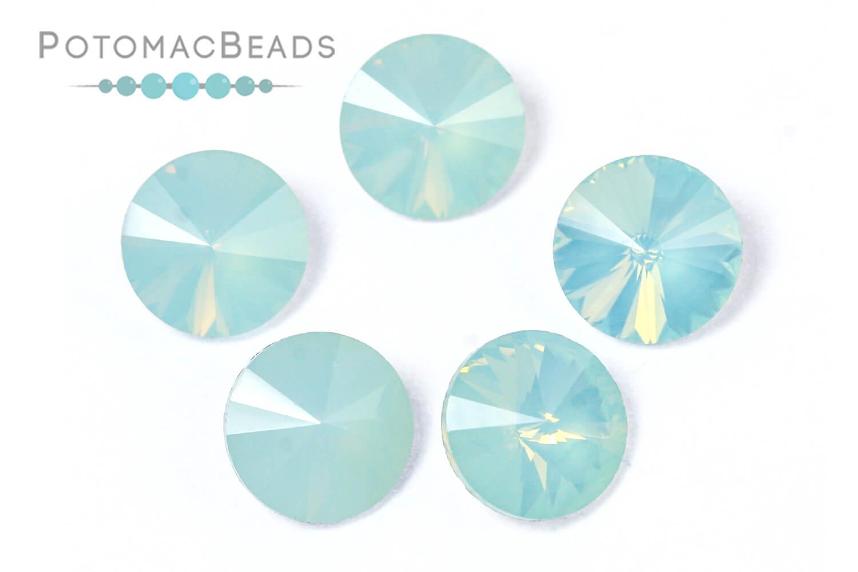 Jewelry Making Supplies & Beads / Beads and Crystals / Rivoli Crystals / Potomac Crystal 8mm Rivoli