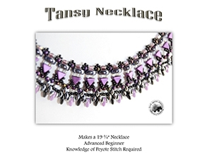 How to Bead / Free Patterns / Tansy Necklace Pattern