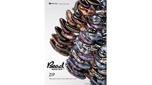 How to Bead Jewelry / Zip Bracelet Pattern by Jaroslava Ruzickova