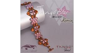 How to Bead / Free Patterns / Tango Star Bracelet Remix Pattern