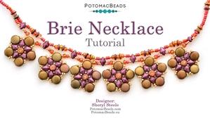 How to Bead Jewelry / Beading Tutorials & Jewel Making Videos / Bead Weaving Tutorials & Necklace Tutorial / Brie Necklace Tutorial