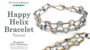 How to Bead / Free Video Tutorials / Bracelet Projects / Happy Helix Bracelet Tutorial