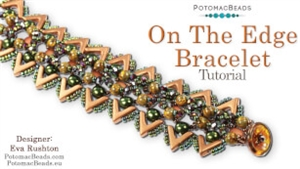 How to Bead / Free Video Tutorials / Bracelet Projects / On the Edge Bracelet Tutorial