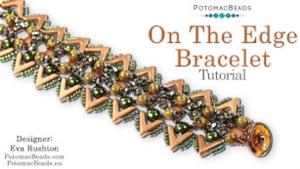 How to Bead Jewelry / Beading Tutorials & Jewel Making Videos / Bracelet Projects / On the Edge Bracelet Tutorial