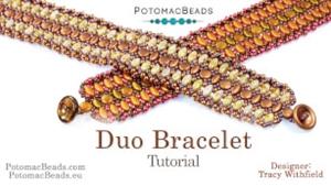 How to Bead / Free Video Tutorials / Bracelet Projects / Duo Bracelet Tutorial