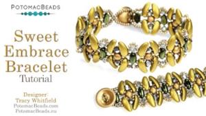 How to Bead Jewelry / Beading Tutorials & Jewel Making Videos / Bracelet Projects / Sweet Embrace Bracelet Tutorial
