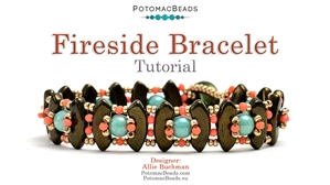 How to Bead / Free Video Tutorials / Bracelet Projects / Fireside Bracelet Tutorial