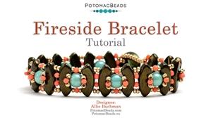 How to Bead Jewelry / Beading Tutorials & Jewel Making Videos / Bracelet Projects / Fireside Bracelet Tutorial