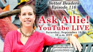 How to Bead Jewelry / Better Beader Episodes / Better Beader Episode 116 - Ask Allie (LIVE)